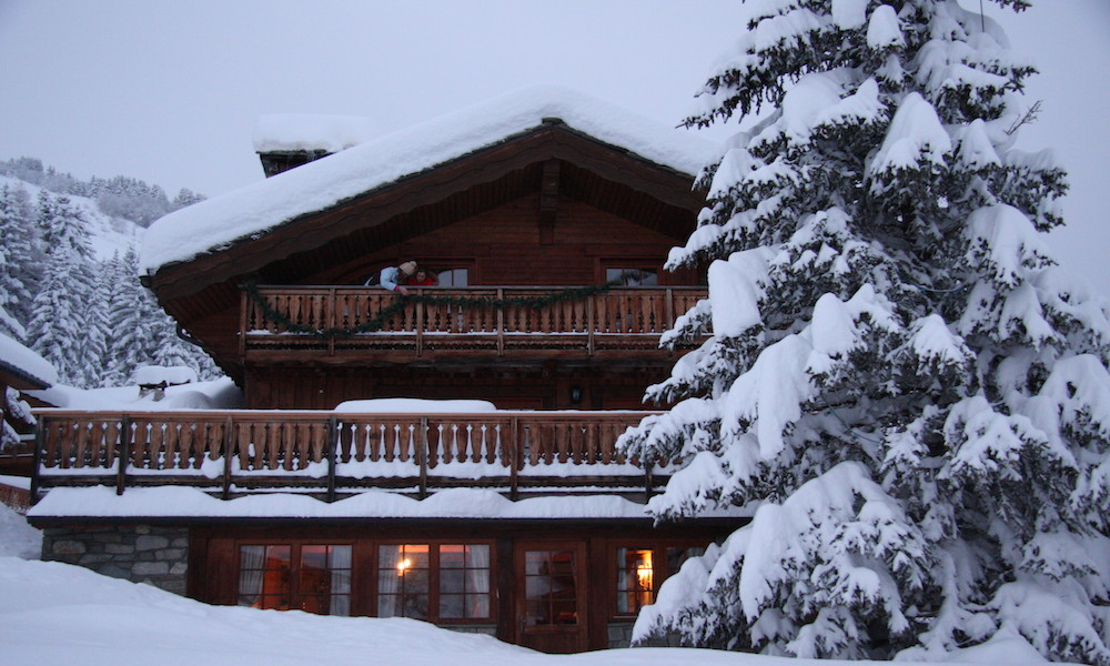 Fresh Snow Courchevel