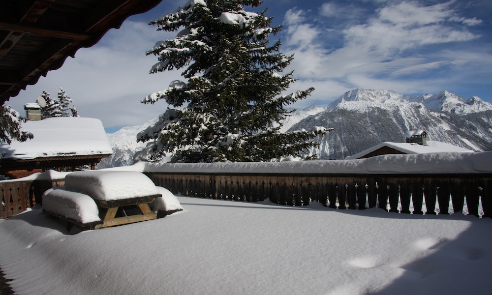 Chalet Maisonnee A Terrace