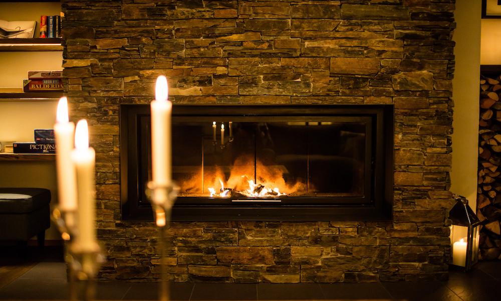 Chalet Montfort Fire