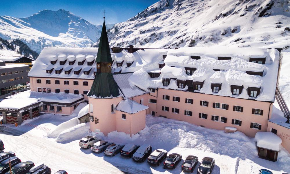 Arlberg Hospiz Hotel St Christoph Luxury Ski Hotel