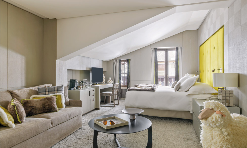Cheval Blanc - one of the best hotels in Courchevel