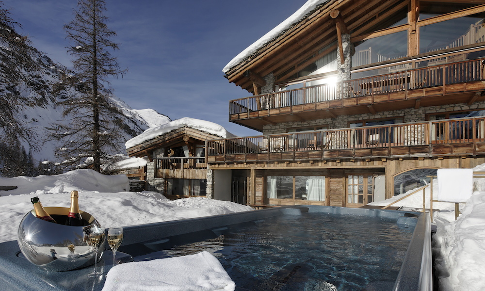 val d isere chalets luxury catered ski chalet from kaluma