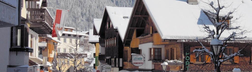 St Anton resort centre