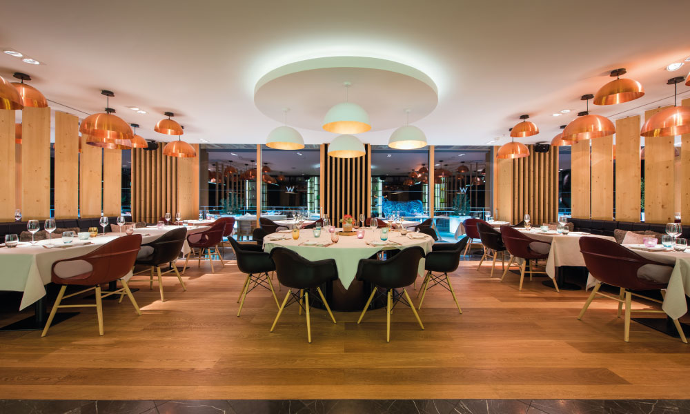 W verbier 5 star luxury ski hotel kaluma travel for W kitchen verbier menu