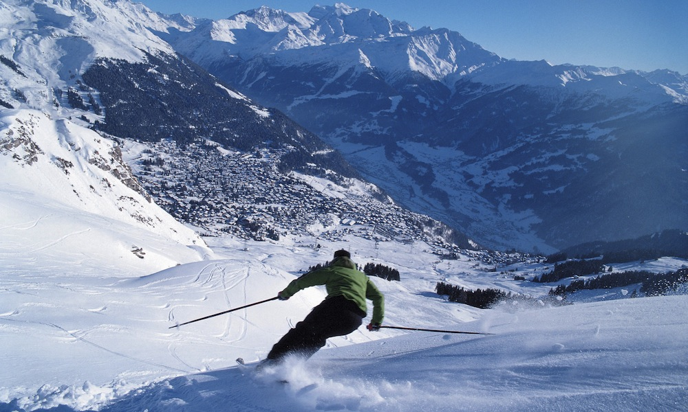 The best ski runs in the Alps