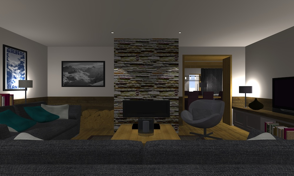 Chalet 53 Living Room 3