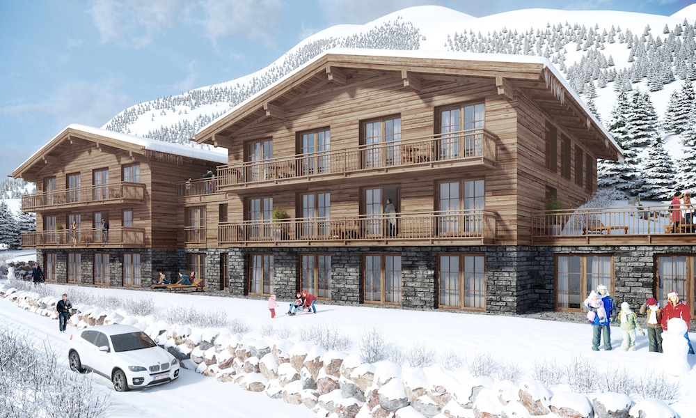 luxury chalets in lech am arlberg and handpicked hotels. Black Bedroom Furniture Sets. Home Design Ideas