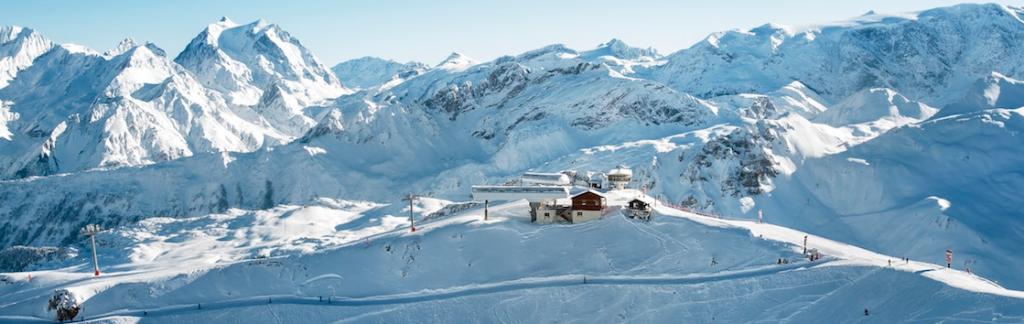 courchevel view