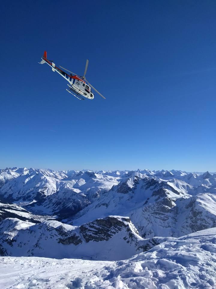 heli ski st anton austria