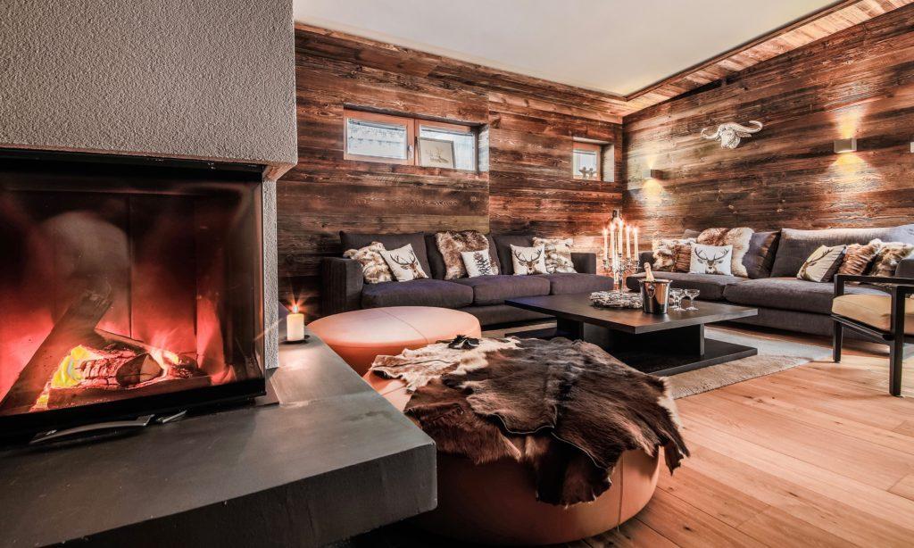 Chalet Bluebird st anton Living Room