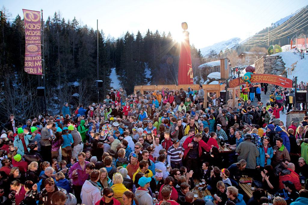 St Anton Party