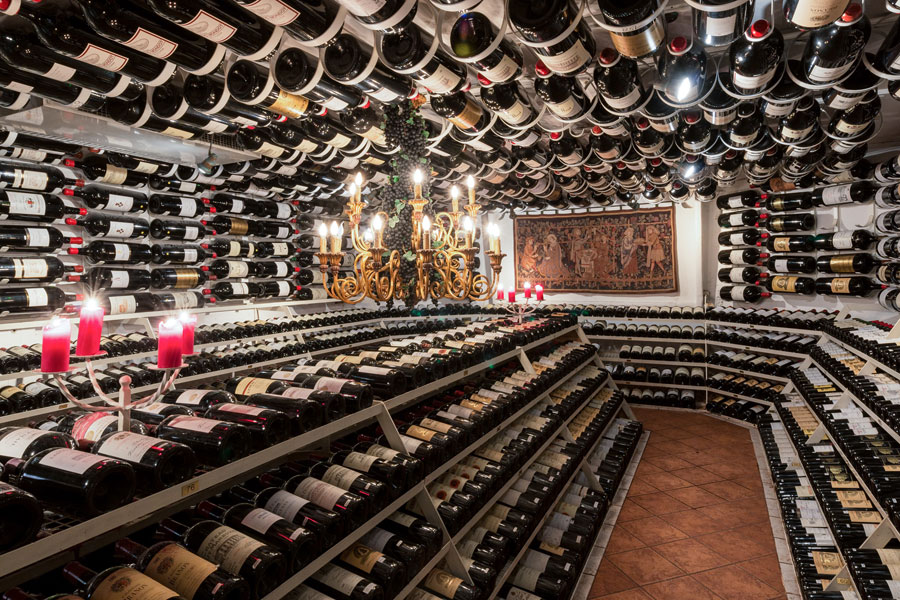 Hospiz Alm Wine Cellar