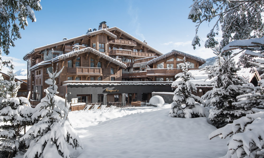 Ski in luxury - Barriere Les Neiges