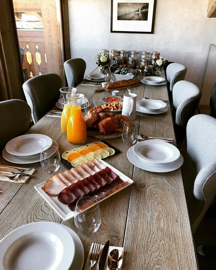 Gourmet chalet food - Chalet La Colombe Breakfast