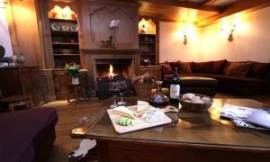 Chalet Maisonnee A Living Room