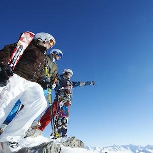 Ski und Snowboarden in Davos-Parsen