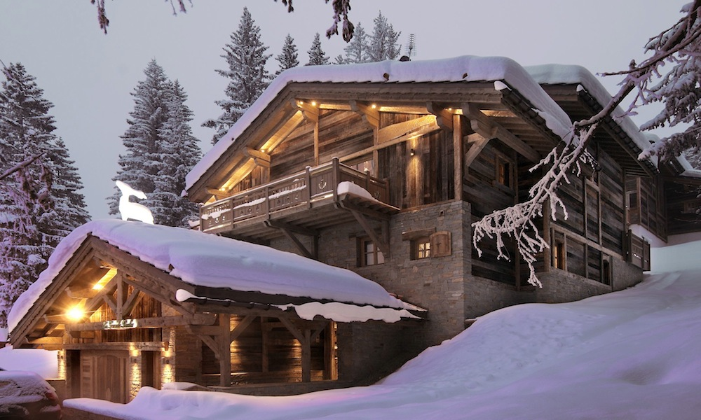 chalet in courchevel
