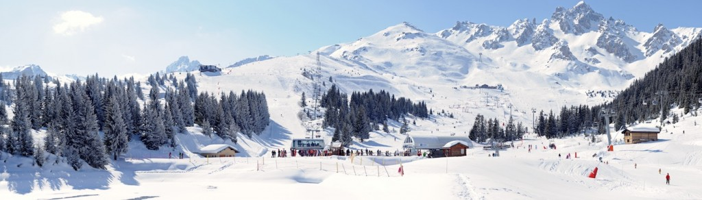 Courchevel Itinerary