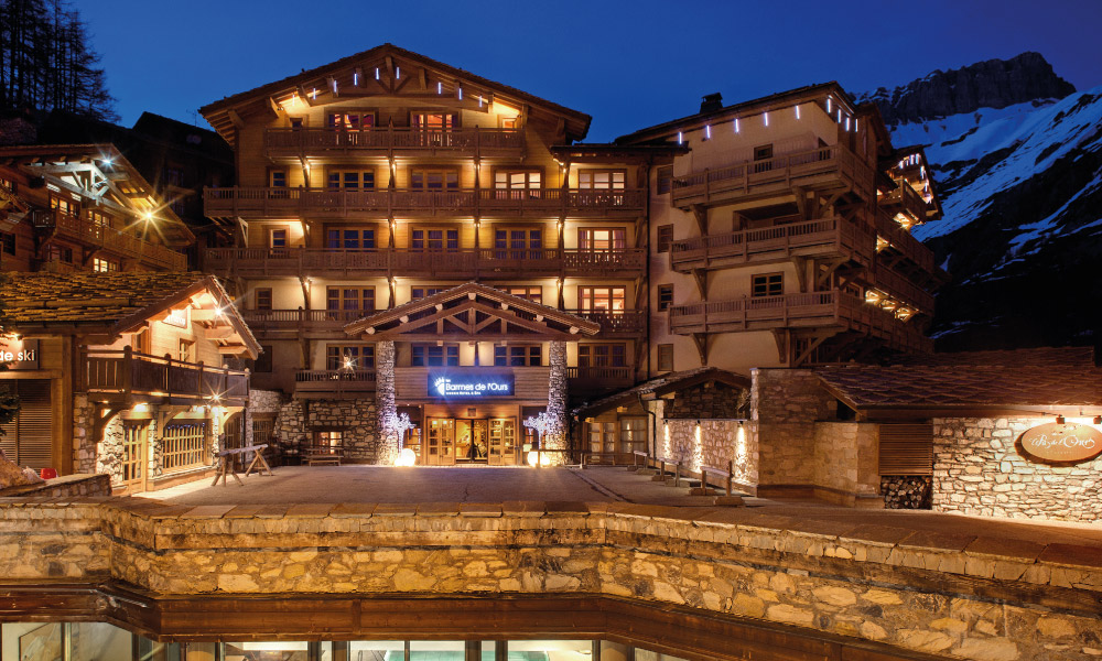 Hotel Barmes De L Ours 5 Val D Isere Luxury Hotel