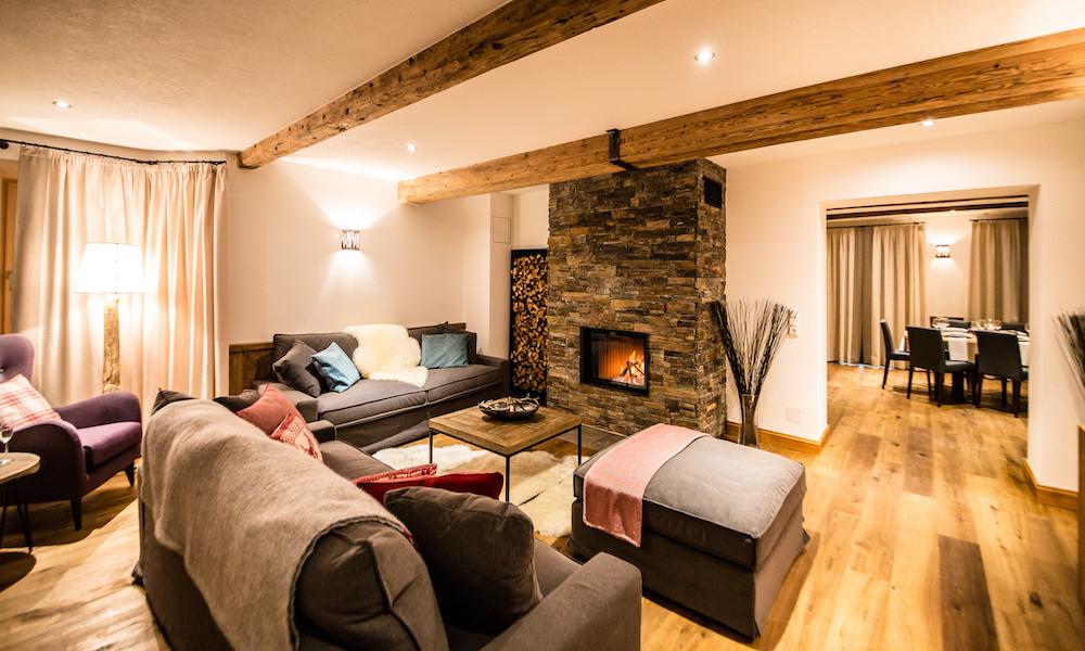 Chalet 53 Living Room