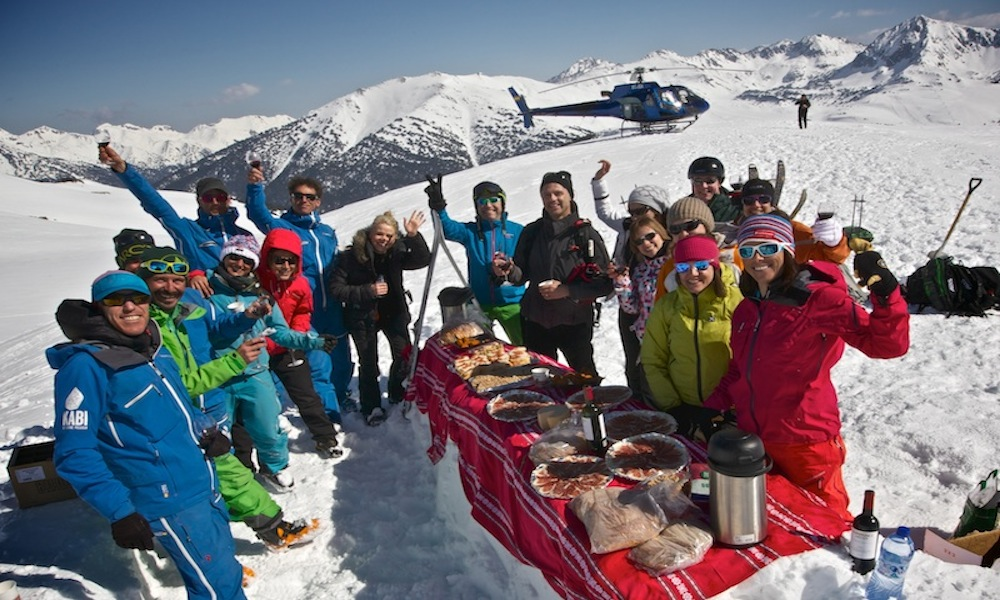 Baqueira Picnic at the Summit