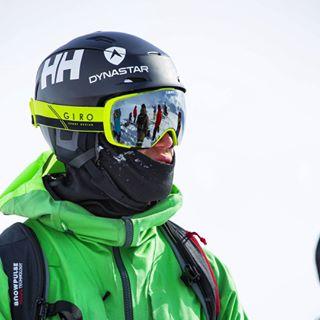 reine barkered skier