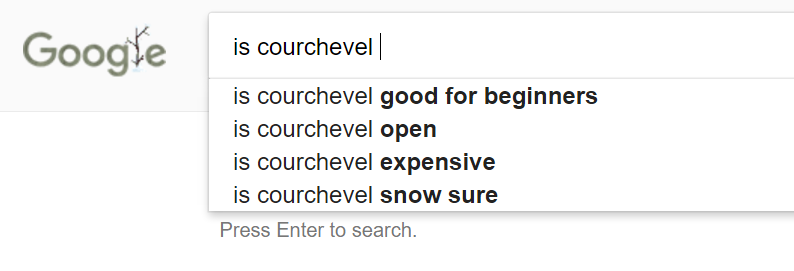 is courchevel good for beginners