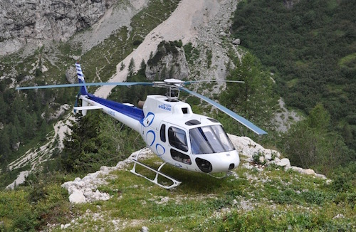 Luxury Heli-Hiking in the Dolomites