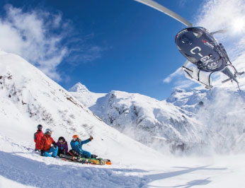 Amazing Private Heli Ski Experience