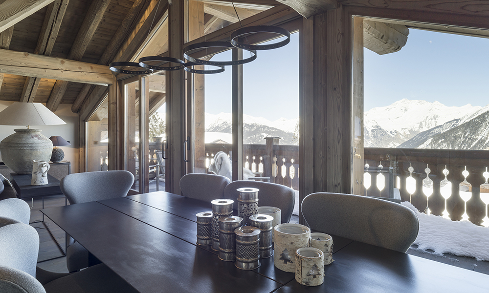 courchevel luxury chalet