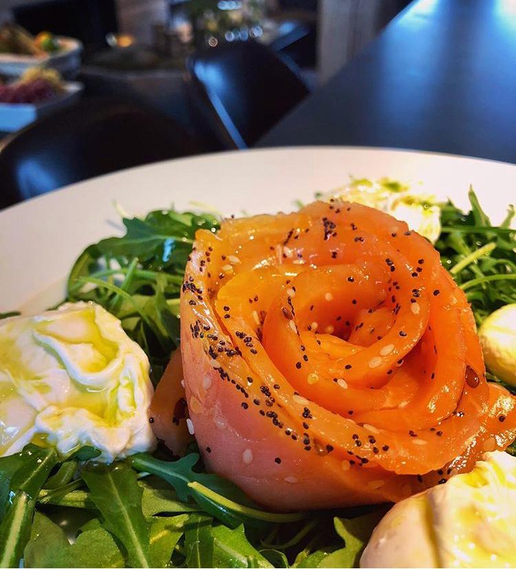 Gourmet chalet food - breakfast