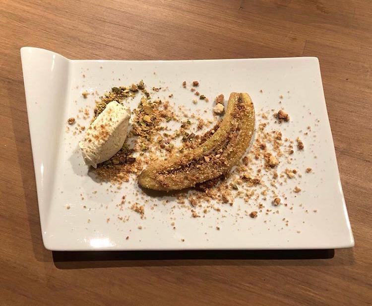 Gourmet chalet food - Chalet Hermine dessert