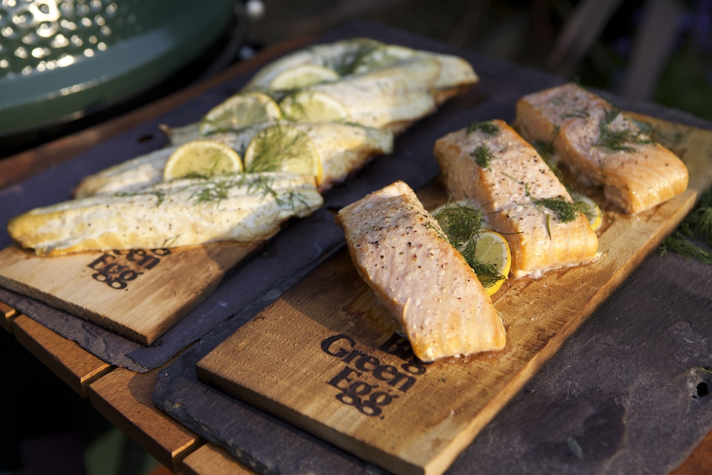 Big Green Egg Salmon Summer Recipes Kaluma